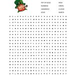 Free Printable St Patrick Day Worksheets | Movedar   Free Printable | Free Printable St Patrick Day Worksheets
