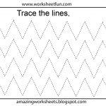 Free Printable Tracing Worksheets Preschool   Preschool Worksheets   Free Printable Cutting Worksheets For Kindergarten