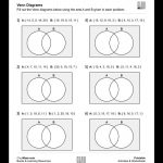 Free, Printable Venn Diagrams Worksheet   These Are Good For | Free Printable Venn Diagram Math Worksheets