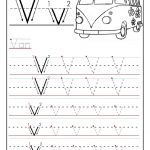 Free Printable Worksheet Letter V For Your Child To Learn And Write | Learn Your Letters Printable Worksheets