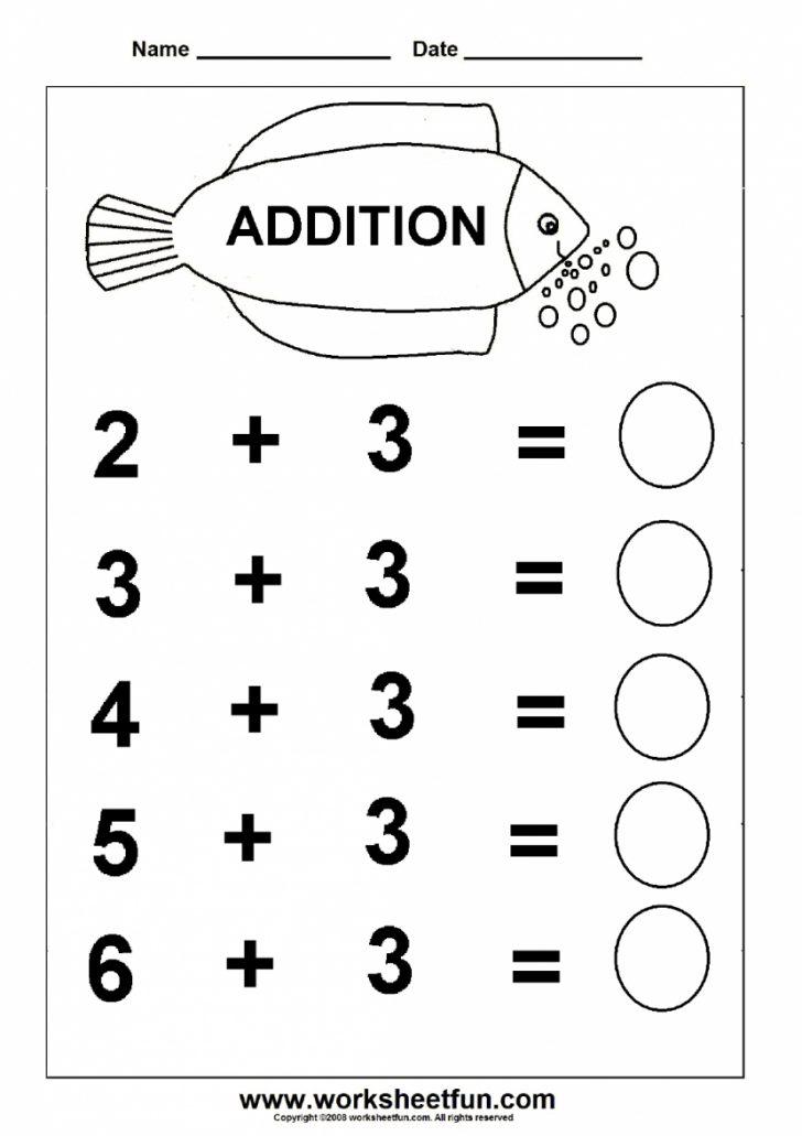 Free Printable Worksheets For Kids