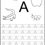 Free Printable Worksheets: Letter Tracing Worksheets For | Free Printable Tracing Worksheets For Preschoolers