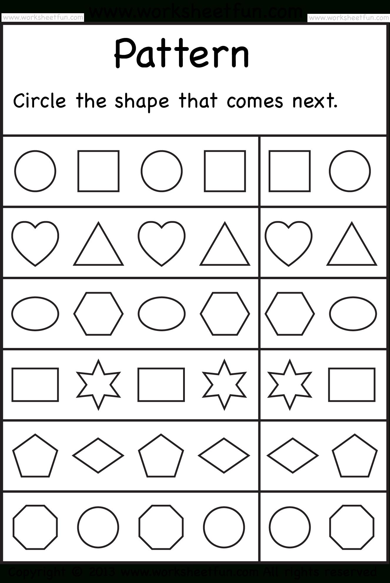 Free Printable Worksheets – Worksheetfun / Free Printable | Free Printable Worksheets For Kindergarten