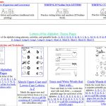 Free Printing And Cursive Handwriting Worksheets   Printable Handwriting Worksheets For Kindergarten