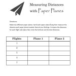 Fun With Paper Planes: Use This Free Printable Worksheet For | Amelia Earhart Free Worksheets Printable