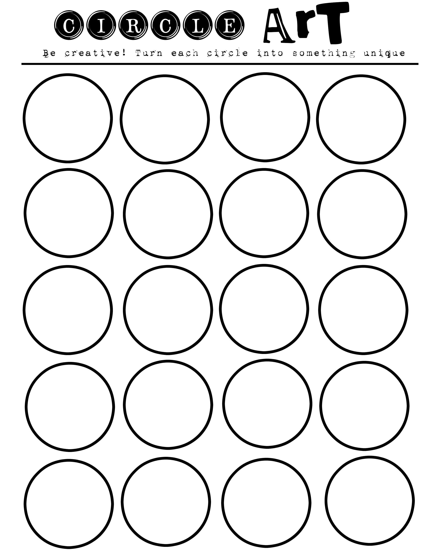 Geometric Art Printablelet Your Kids Imaginations Run Wild | Printable Art Worksheets
