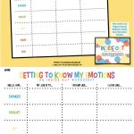 Getting To Know My Emotions   Inside & Out Of Emotions (Three | Emotional Intelligence Activities For Children Printable Worksheets
