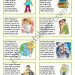 Giving Advice   Esl Worksheetsilvia.patti   Giving Advice Printable Worksheets
