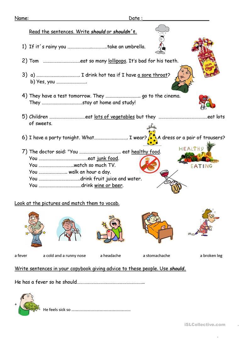 Giving Advice Worksheet - Free Esl Printable Worksheets Madeteachers | Giving Advice Printable Worksheets