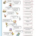 Giving Advice Worksheet – Free Esl Printable Worksheets Madeteachers | Giving Advice Printable Worksheets