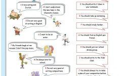 Giving Advice Printable Worksheets