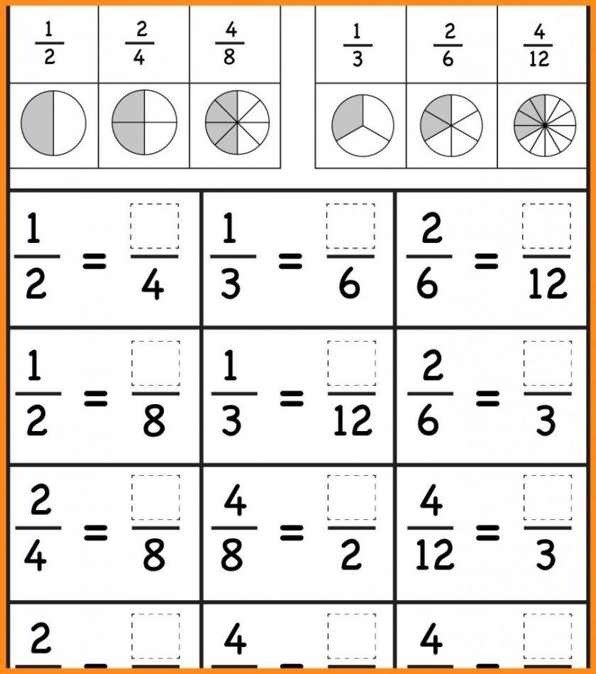 Grade 3Rd Fractions Worksheets Image Free Printable Comparing - Free | Free Printable First Grade Fraction Worksheets