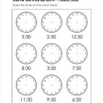 Grade Level Worksheets | Maths | 2Nd Grade Math Worksheets, First | Printable Clock Worksheets First Grade