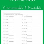 Greatest Common Factor Worksheet   Customizable And Printable | Math | Gcf And Lcm Worksheets Printable