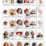 Guess Who Game Disney Pixar   Esl Worksheetlaetimag | Guess Who Printable Worksheets