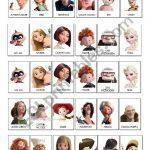 Guess Who Game Disney Pixar   Esl Worksheetlaetimag | Guess Who Printable Worksheets