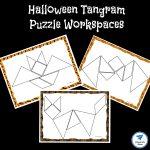 Halloween Themed Printable Tangram Puzzles   Jdaniel4S Mom | Tangram Worksheet Printable Free