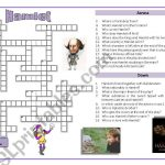 Hamlet   Crossword Puzzle   Esl Worksheetoppilif | Hamlet Printable Worksheets