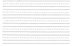 Printable Blank Handwriting Worksheets