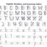 Handwriting Without Tears Letter Formation Charts  Manuscript | Manuscript Printable Worksheets