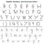 Handwriting Without Tears Printables | Here Is A Handy Letter | Handwriting Without Tears Worksheets Free Printable
