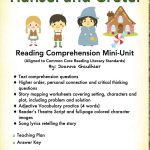 Hansel And Gretel   A Fairy Tale Reading Comprehension Unit | Hansel And Gretel Printable Worksheets