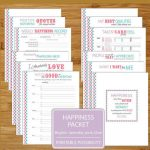 Happiness Worksheet Printables   Brights   12 Pages   8.5X11 Inch   Happiness Printable Worksheets