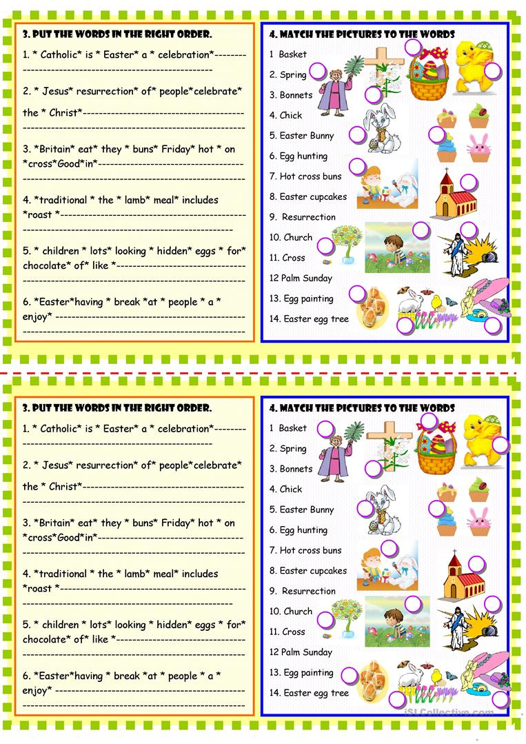 Happy Easter Reading Comprehension Worksheet - Free Esl Printable | Free Printable Easter Reading Comprehension Worksheets