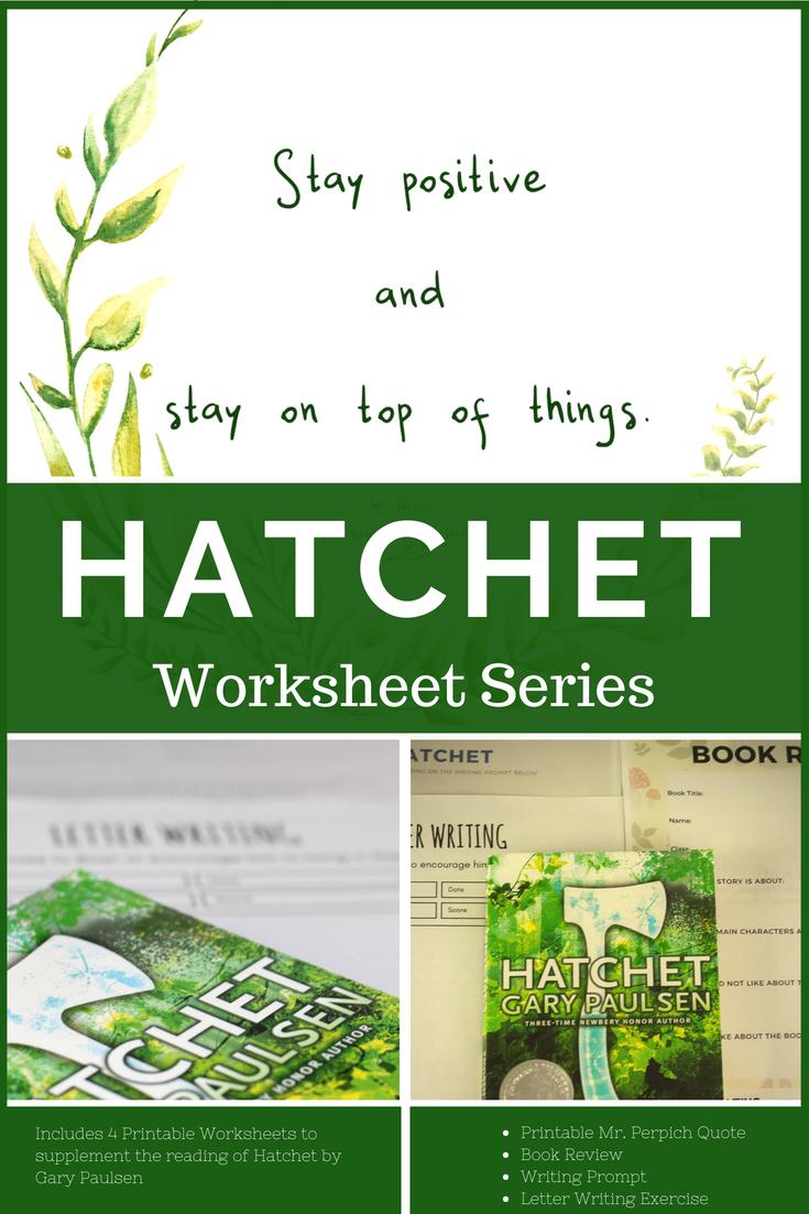 Hatchet Book Review And Worksheets - Geez, Gwen! | Hatchet Worksheets Printable