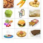 Healthy And Junk Food Worksheet   Free Esl Printable Worksheets Made | Free Printable Healthy Eating Worksheets