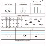High Frequency Word Do Printable Worksheet | Myteachingstation | Printable Sight Word Worksheets