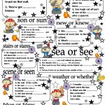 Homophones Worksheet – Free Esl Printable Worksheets Madeteachers | Free Printable Homophones Worksheets For Grade 2