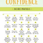How To Increase Kids Self Confidence | Optimistic Spark | Self Esteem Printable Worksheets For Kids