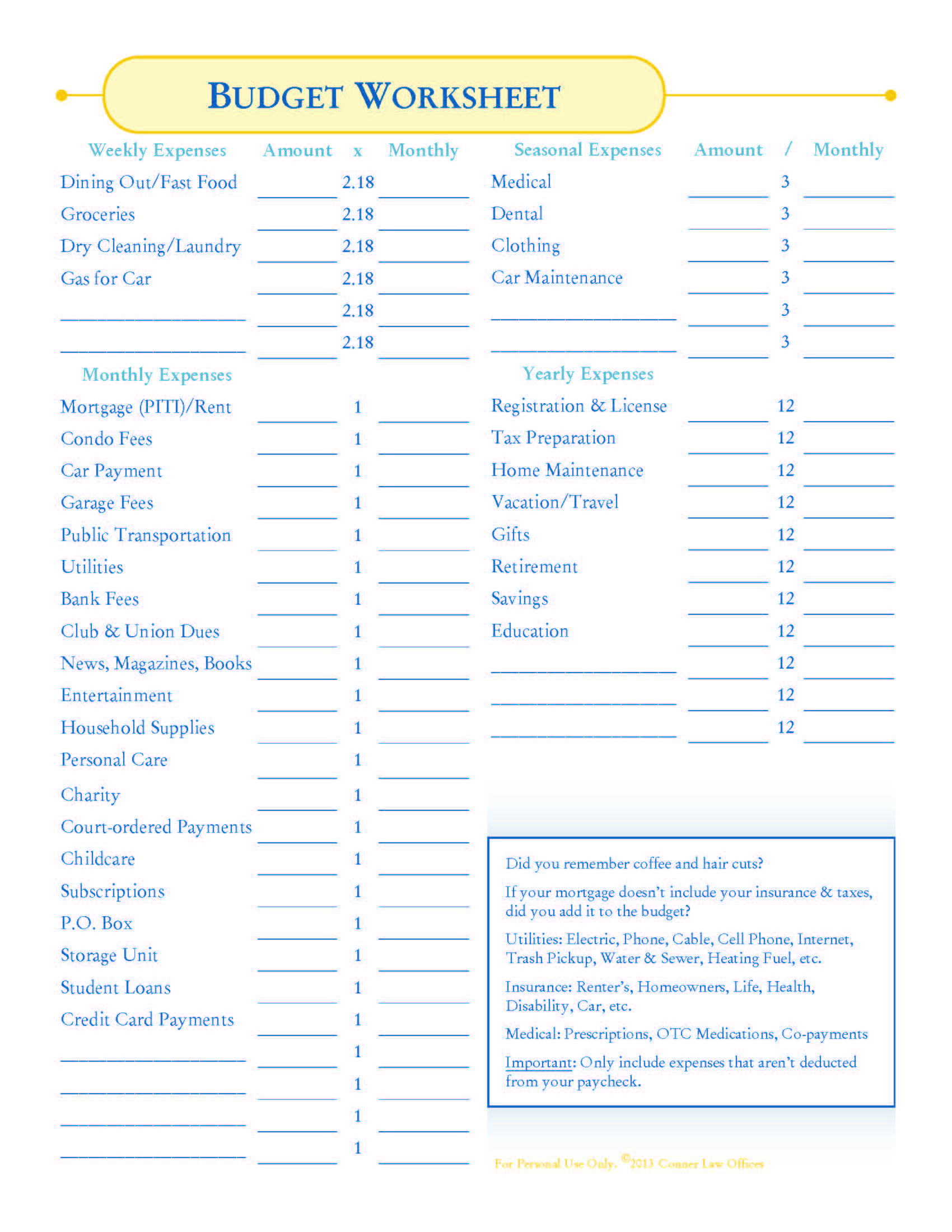How To Make A #budget + #free Budget Worksheets! | Organizing | Blank Budget Worksheet Printable