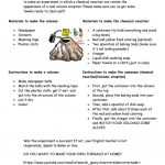 How To Make Your Own Volcano Worksheet   Free Esl Printable | Printable Volcano Worksheets