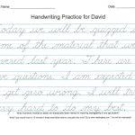 Improve Handwriting Worksheets – Shoppingfoorme.club   A To Z Teacher Stuff Tools Printable Handwriting Worksheet Generator