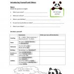 Introducing Yourself And Others Worksheet   Free Esl Printable | Introduce Yourself Printable Worksheets
