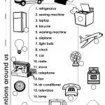 Inventions Around Us Worksheet   Free Esl Printable Worksheets Made   Inventions Printable Worksheets