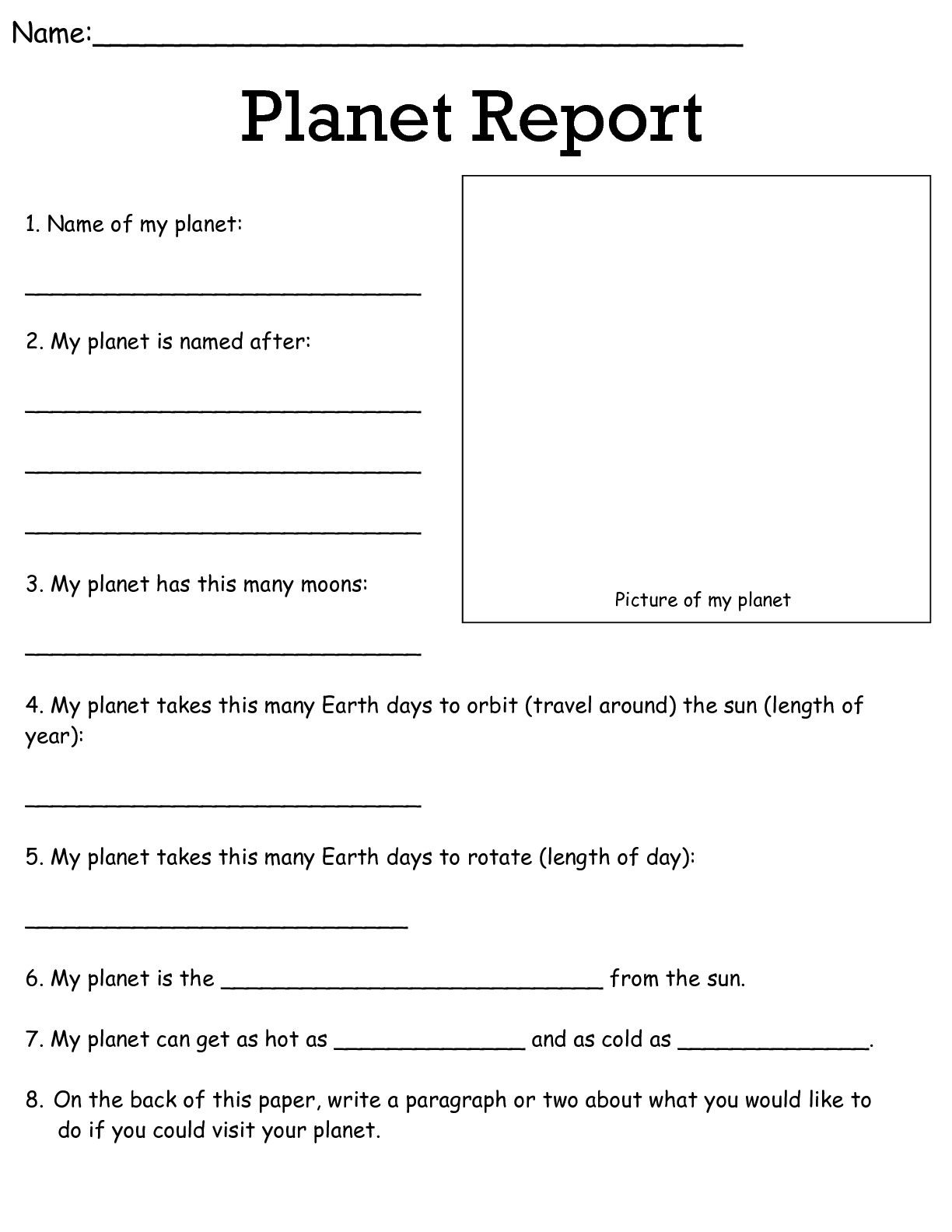 Job Worksheets 5Th &6Th | Science Worksheets Science Worksheets | 5Th Grade Science Printable Worksheets