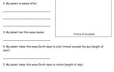 Free Printable Fifth Grade Science Worksheets