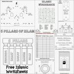 Karima's Crafts: Islamic Placemat And Worksheets   30 Days Of | Ramadan Worksheets Printables