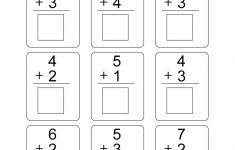 Free Printable Preschool Addition Worksheets