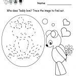 Kindergarten Valentine's Day Activities Worksheet Printable | Cute | Free Printable Preschool Valentine Worksheets