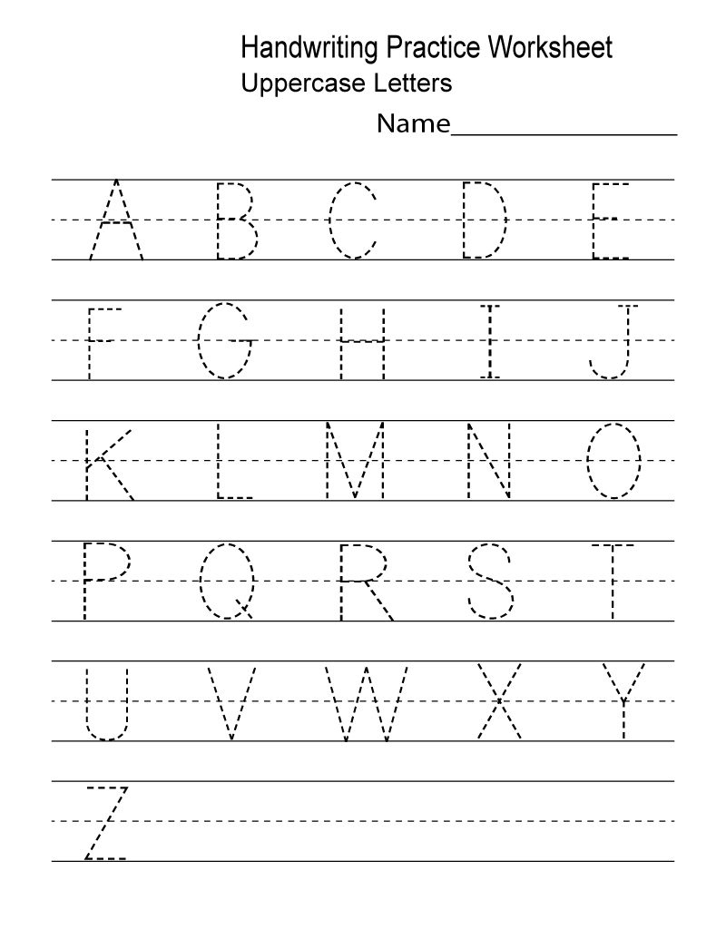 Kindergarten Worksheets Pdf Free Download Handwriting | Learning | Free Printable Write Your Name Worksheets