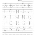 Kindergarten Worksheets Pdf Free Download Handwriting | Learning | Printable Handwriting Worksheets Pdf