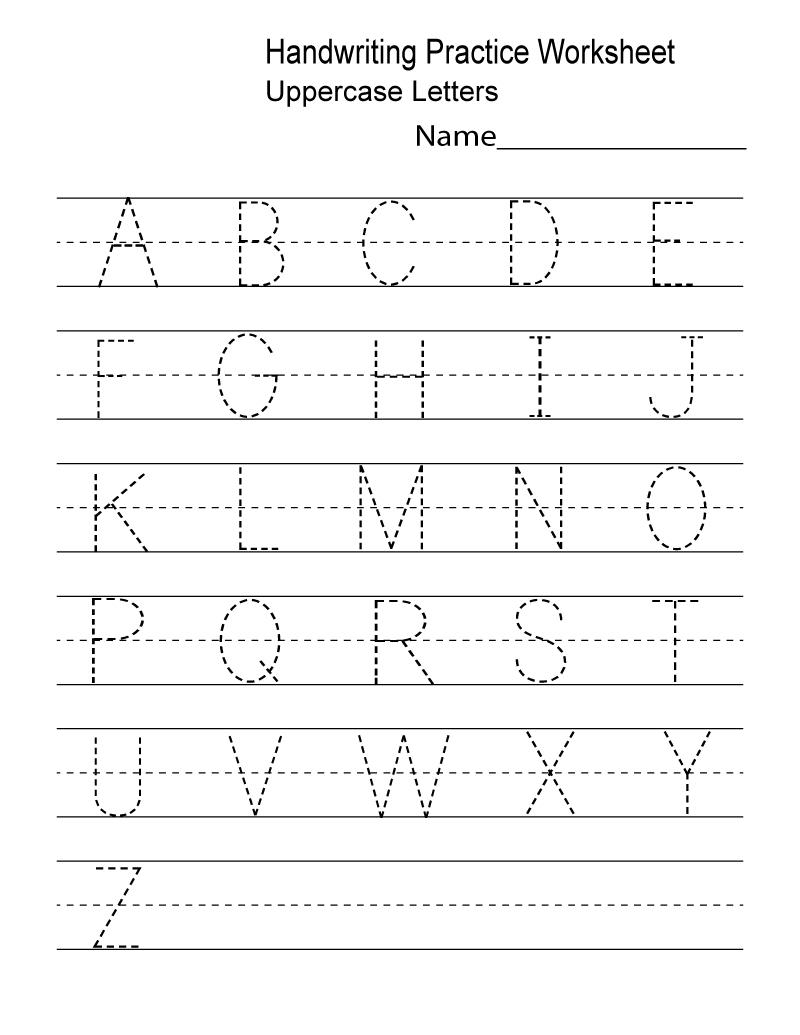 Kindergarten Worksheets Pdf Free Download Handwriting | Learning | Printable Handwriting Worksheets Pdf