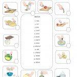 Kitchen Verbs | Schooling | Verb Worksheets, English Resources | Cooking Verbs Printable Worksheets