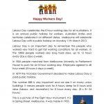 Labour Day In Australia Worksheet   Free Esl Printable Worksheets | Free Printable Labor Day Worksheets
