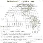 Latitude Longitude Printable Worksheets Accounting Coordinate | Latitude Longitude Printable Worksheets