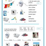 Laundry Worksheet   Free Esl Printable Worksheets Madeteachers | Laundry Worksheets Printable